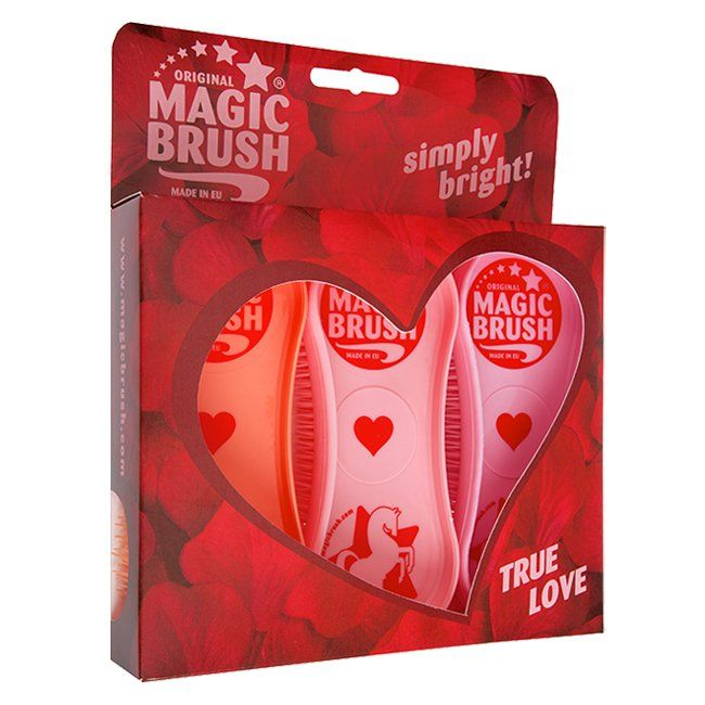 Magic Brush True Love Grooming Brush Set