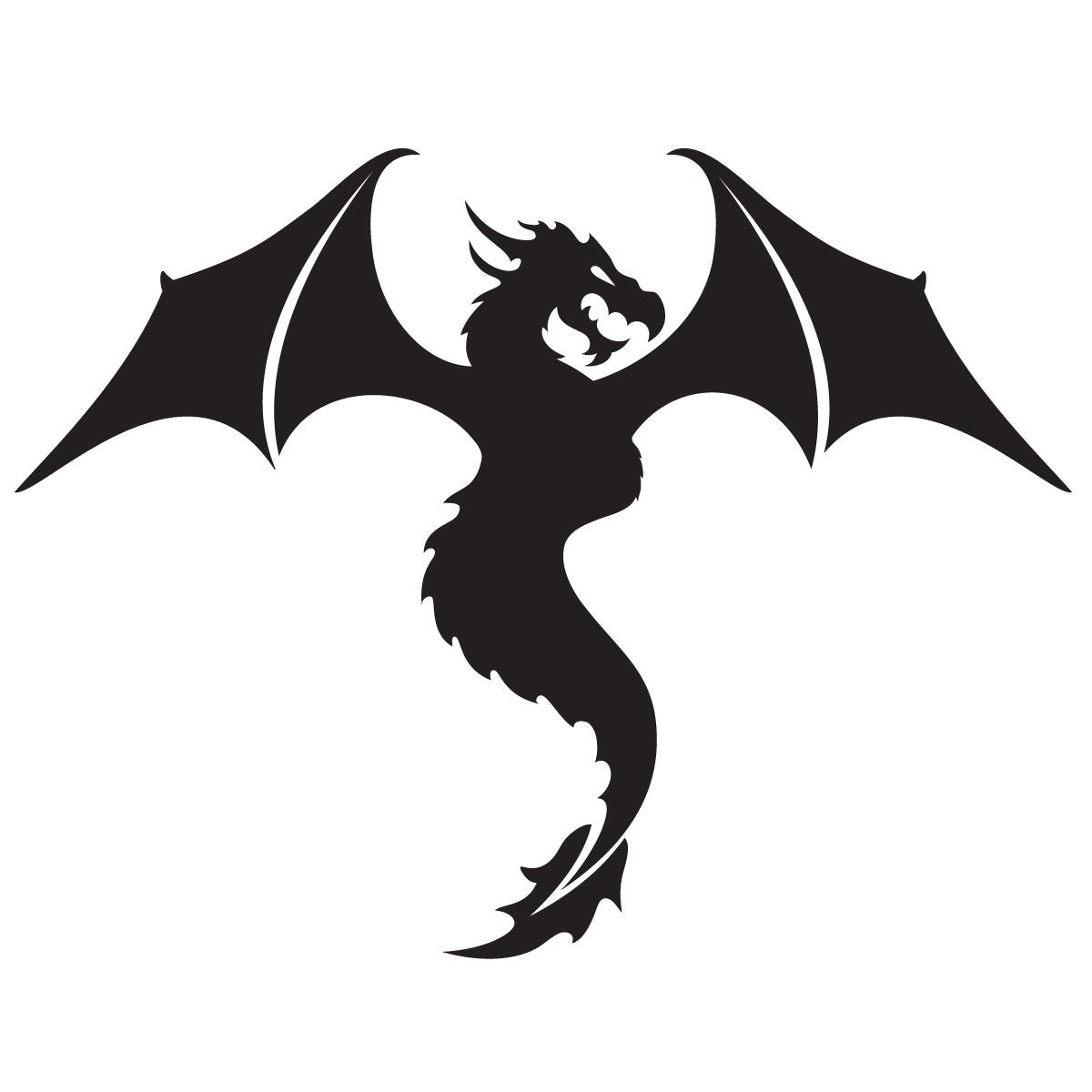 Glamourati Dragon Stencil