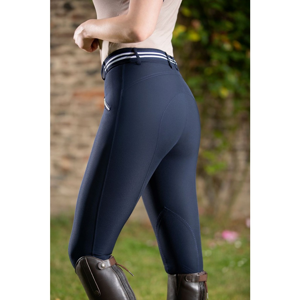 Lauria Garrelli Stripe Silicone Full Seat Breeches