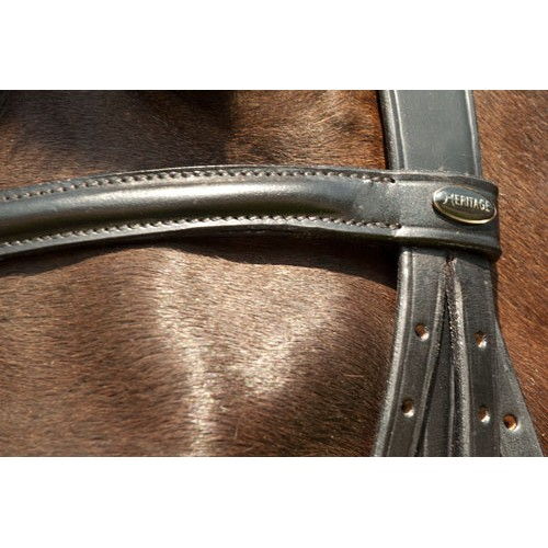 Heritage Leather Double Bridle Brown