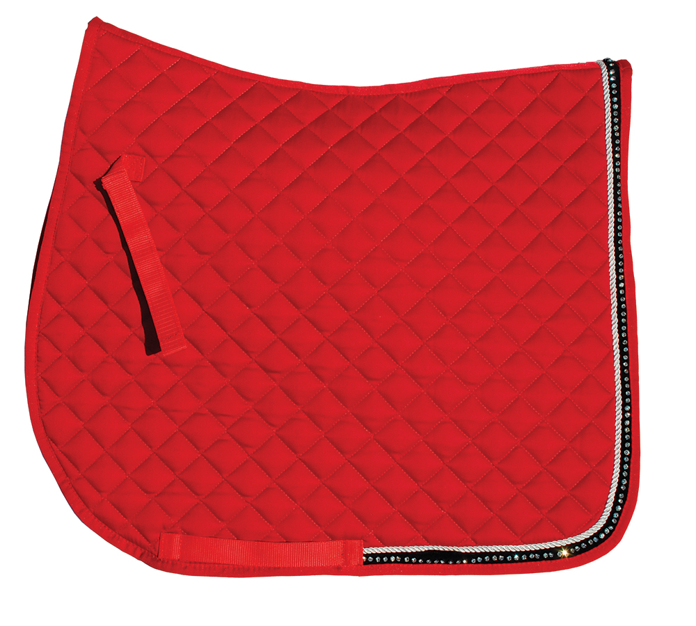 Rhinegold Elite Diamond Trim Saddle Cloth