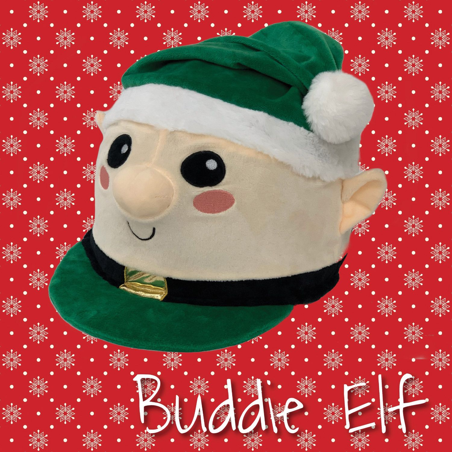 Equetech Buddie the Elf Christmas Hat Silk
