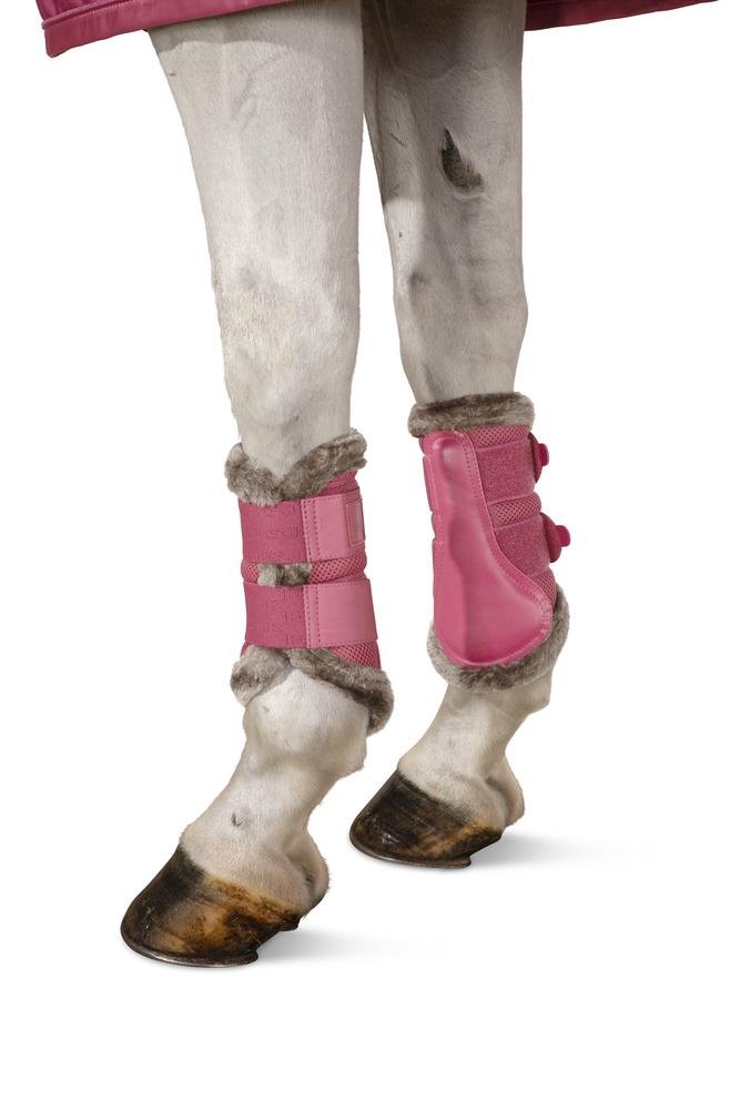 Eskadron Mesh Pink Boots