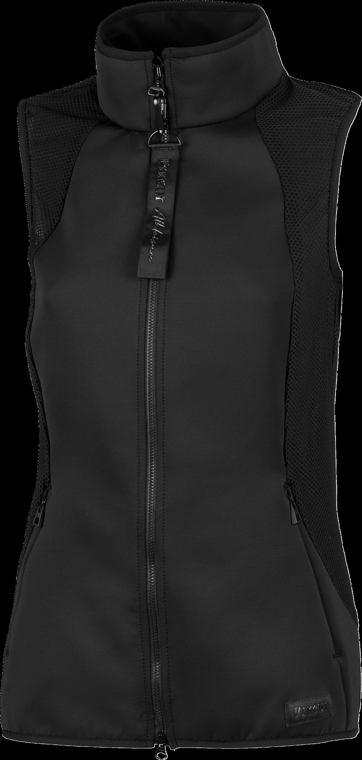 Pikeur Lin Black Waistcoat Bodywarmer