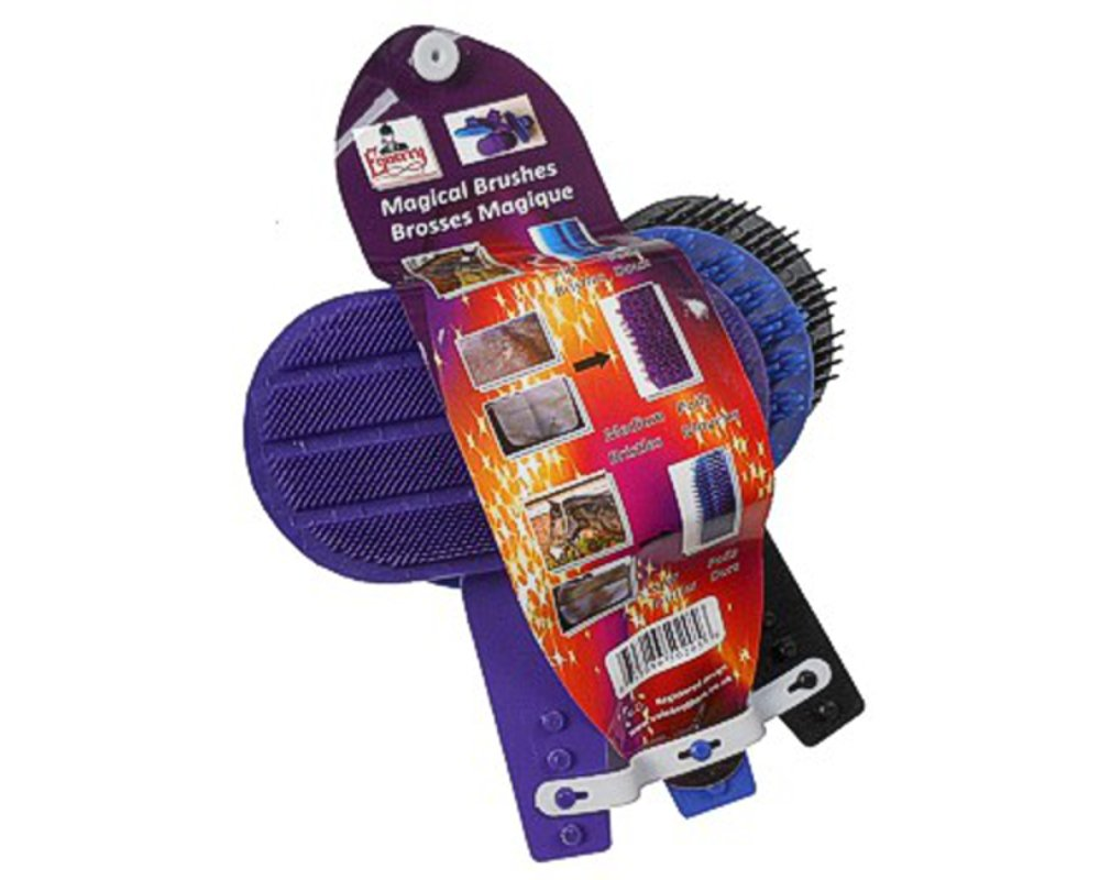 Equerry Mystical Grooming Brushes 3 Pack