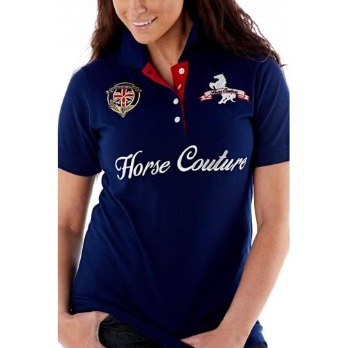 Horse Couture Polo Shirt Top