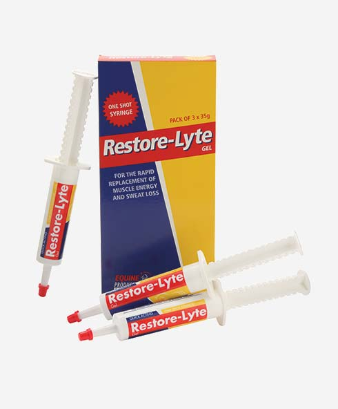 Equine Products LTD Restore-Lyte Gel Syringes
