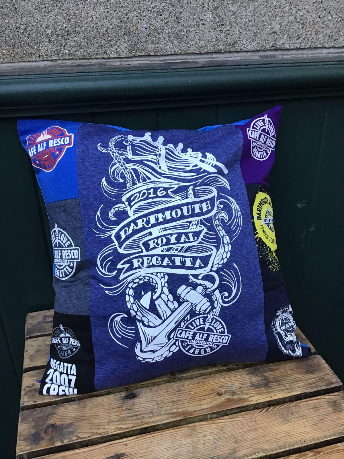Regatta 2016 Multi Logo Big Cushion
