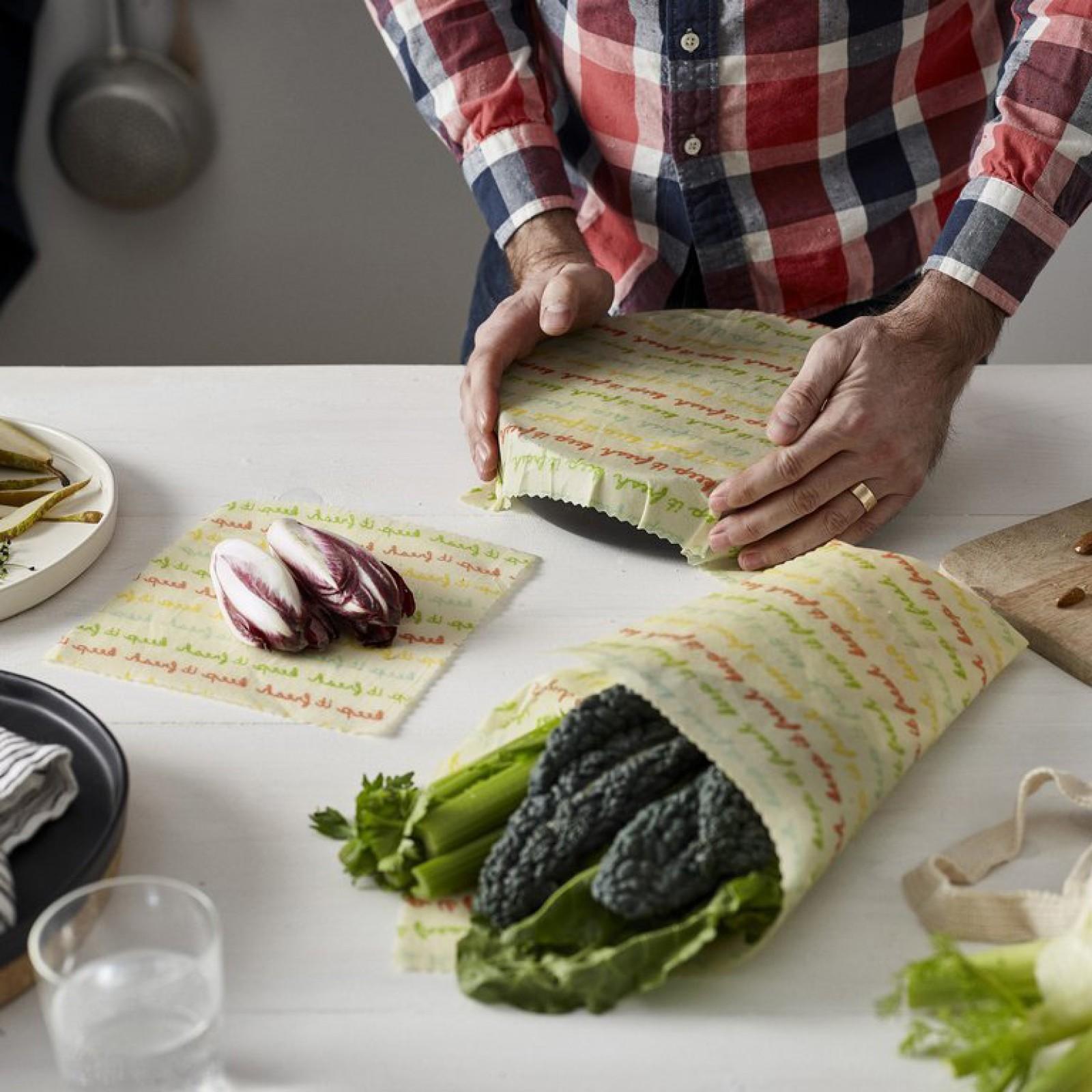 Vegan Food Wraps Medium Kitchen Pack The Waste Reduction Shop