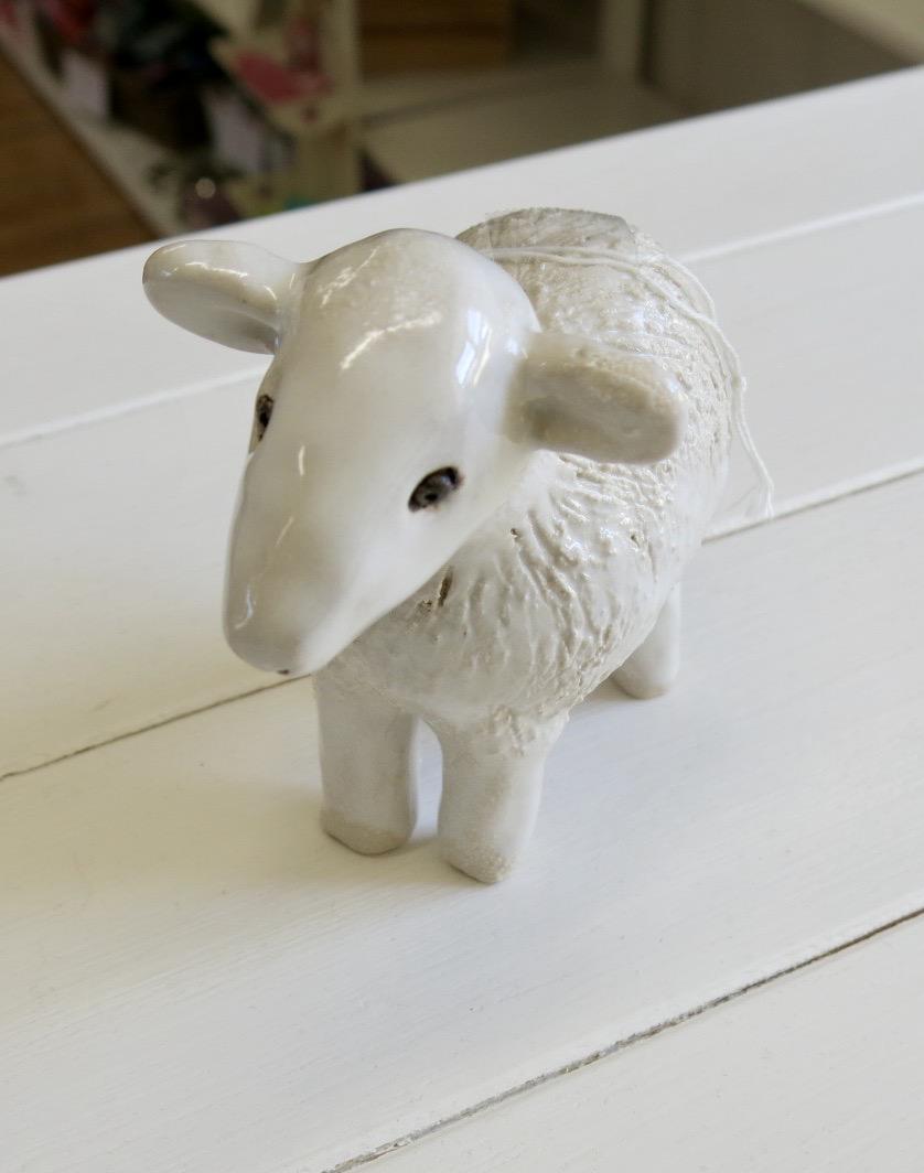 CERAMIC POTTERY SHEEP