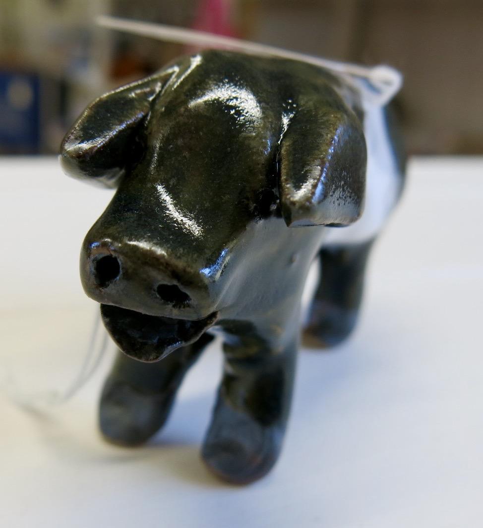 CERAMIC POTTERY PIG