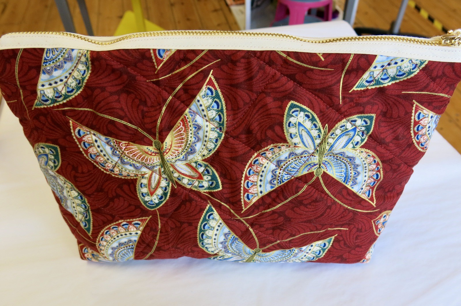 BUTTERFLY MAKE UP BAG