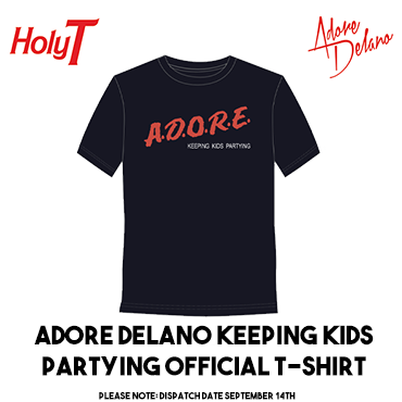 Adore Delano Keeping Kids Partying T Shirt