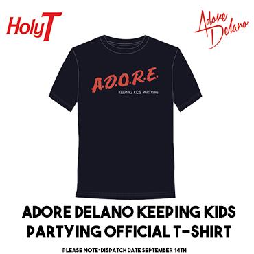 Adore Delano Keeping Kids Partying T Shirt