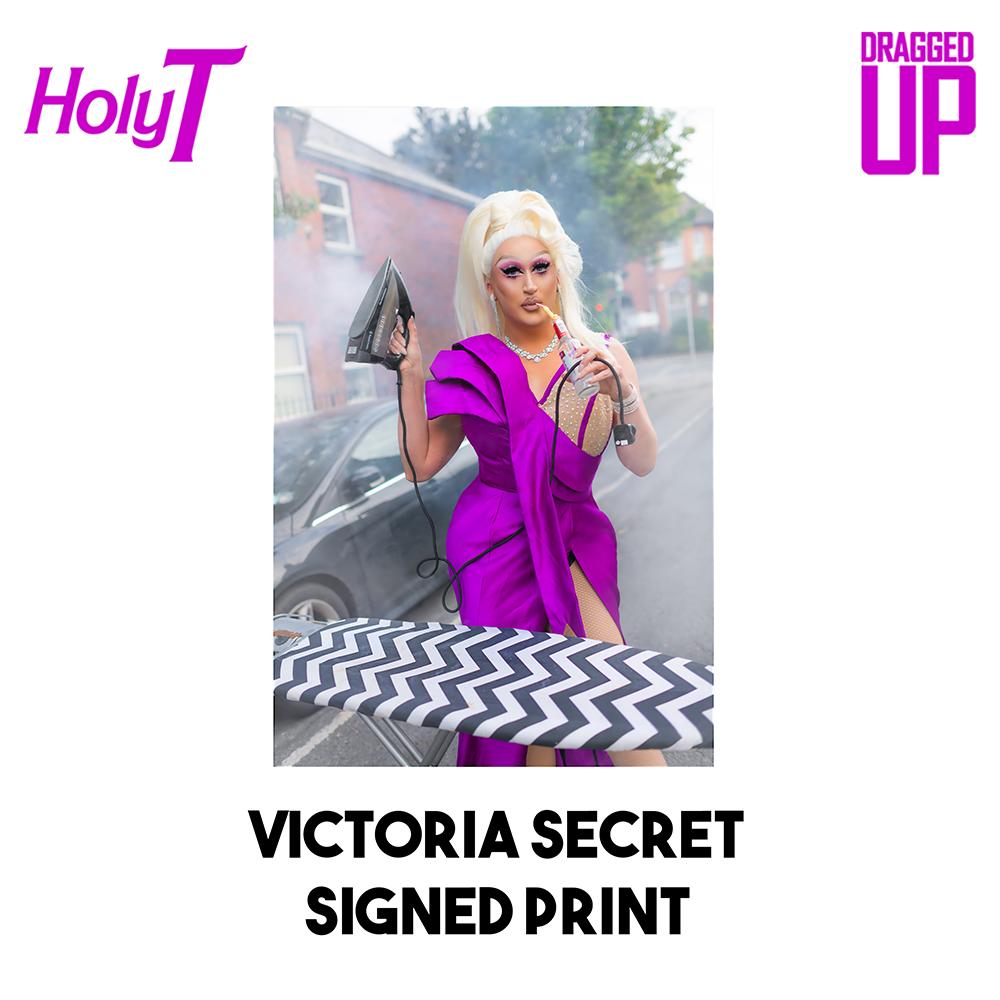 Victoria Secret Signed Print