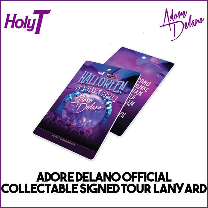 Adore Delano Signed Collectable Lanyard