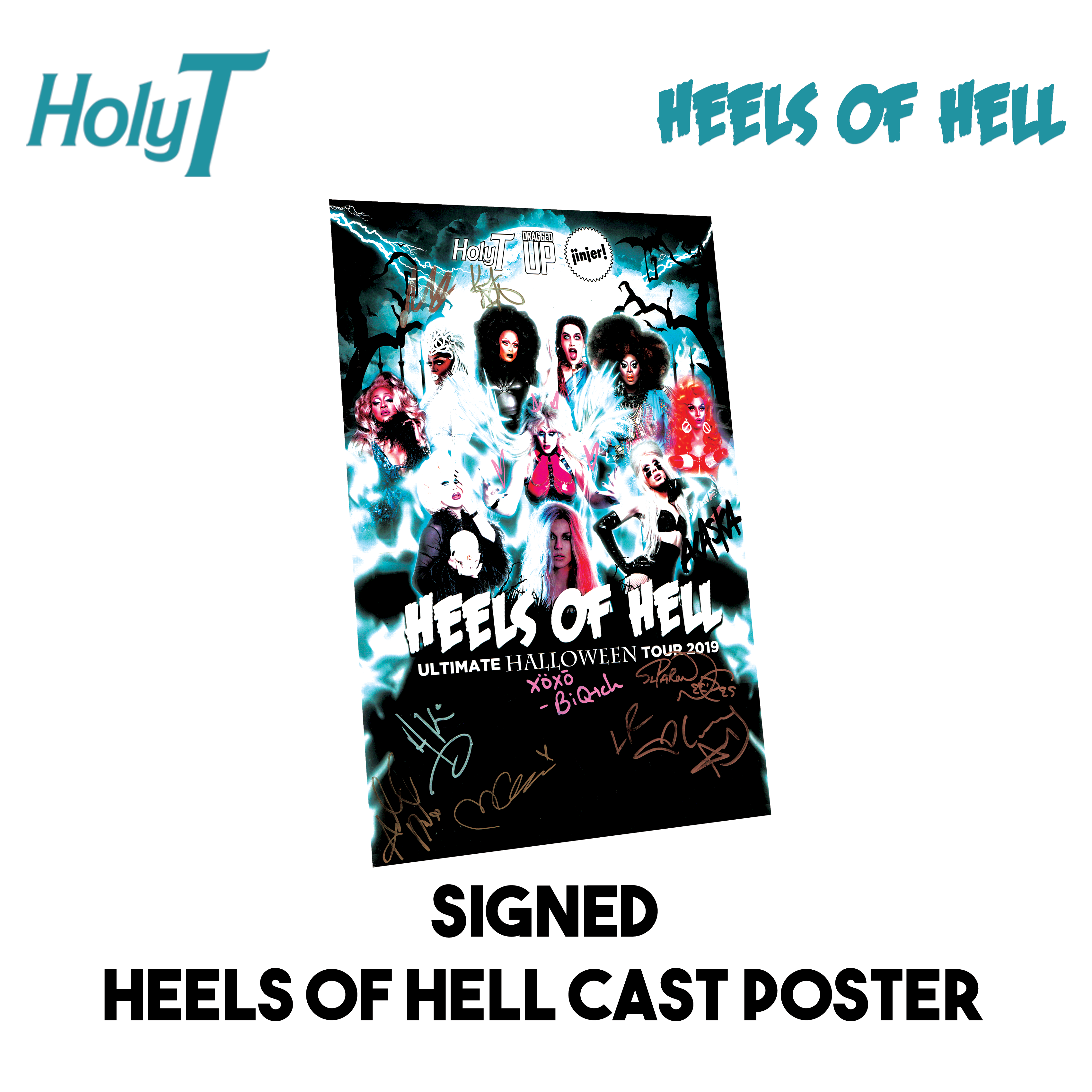 Heels of Hell Signed Poster