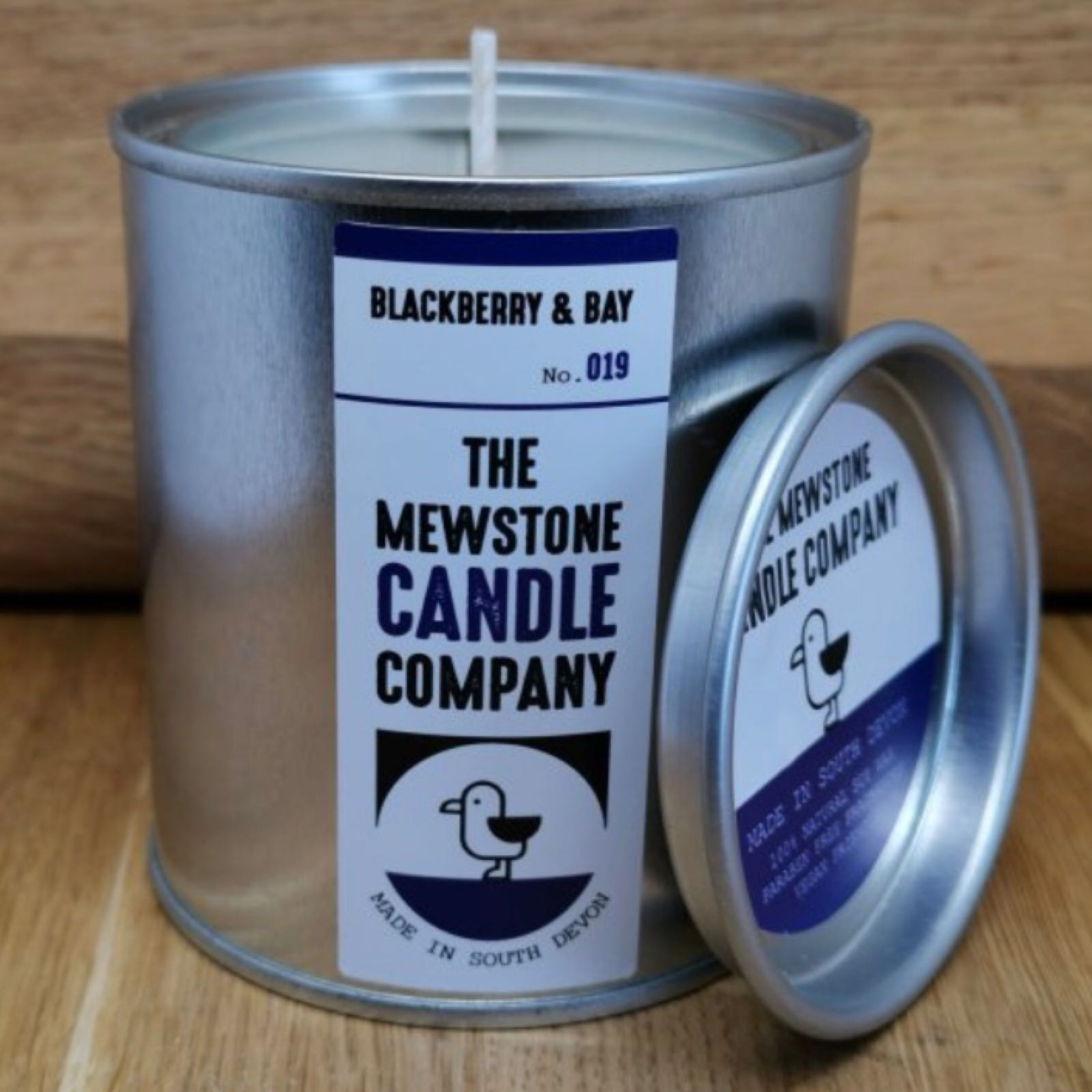 'Blackberry & Bay' Paint Tin Candle