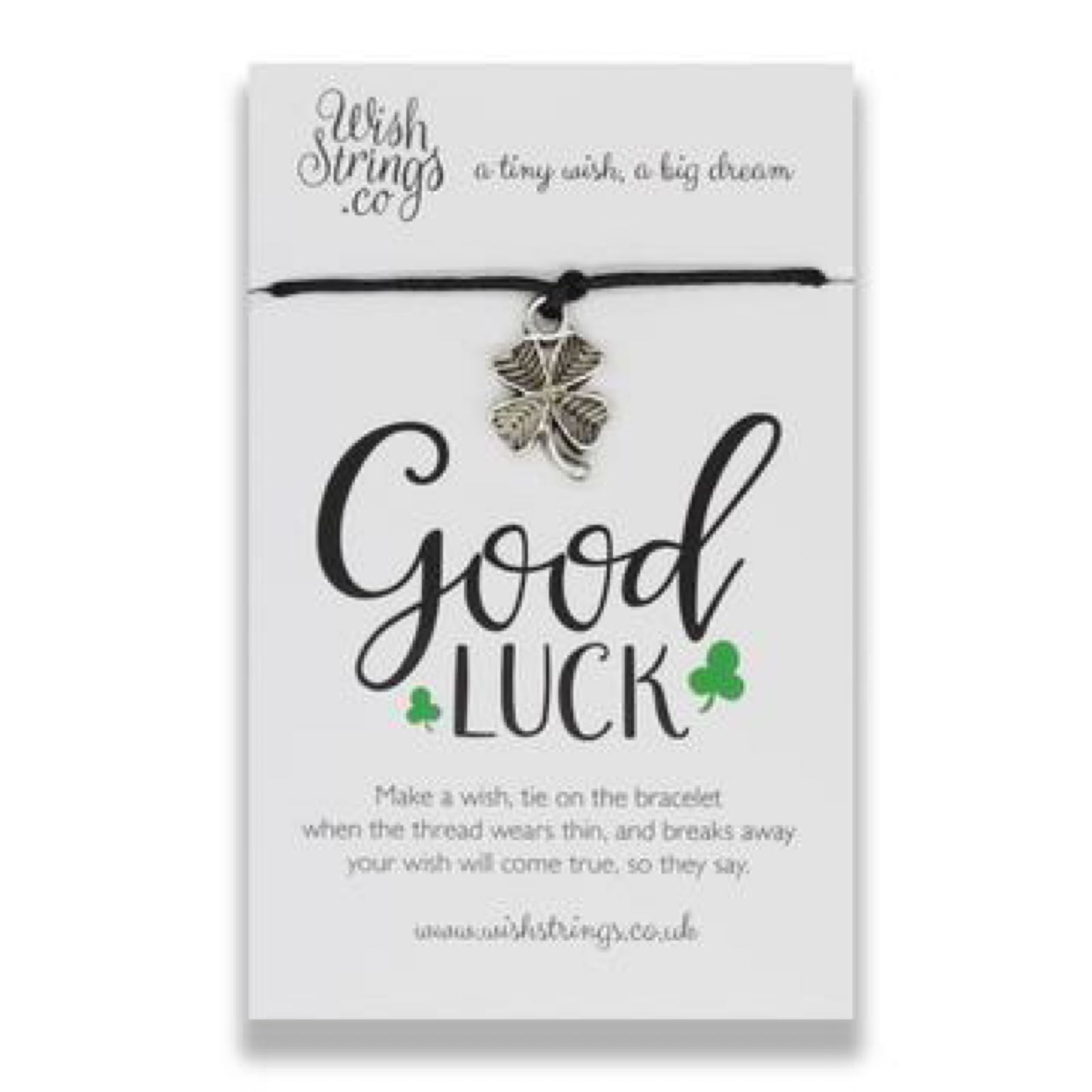 *Sale* Good Luck Wish String