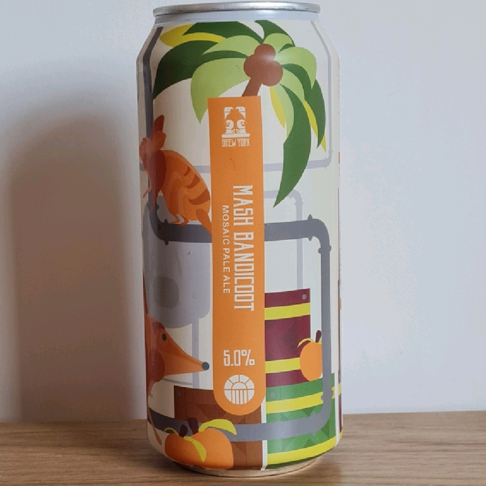 Brew York Mash Bandicoot