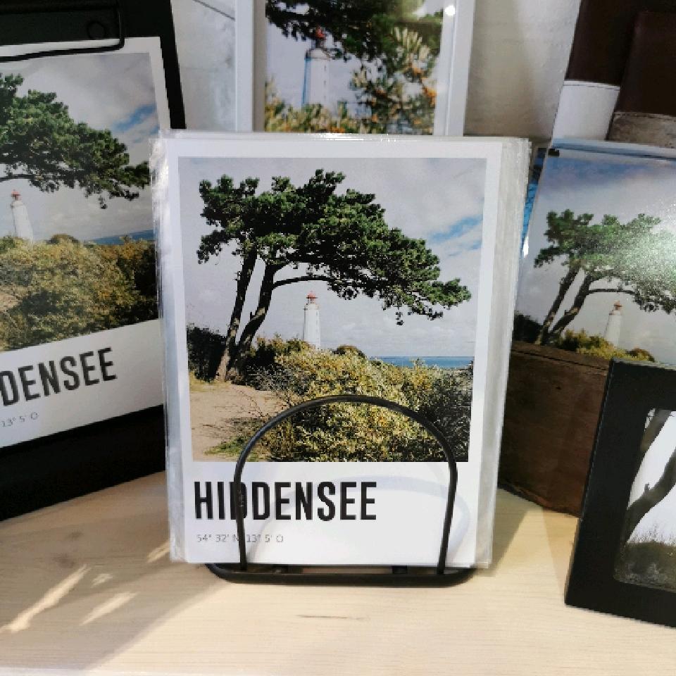 Lomoherz - Hiddensee A5 Print Koordinaten
