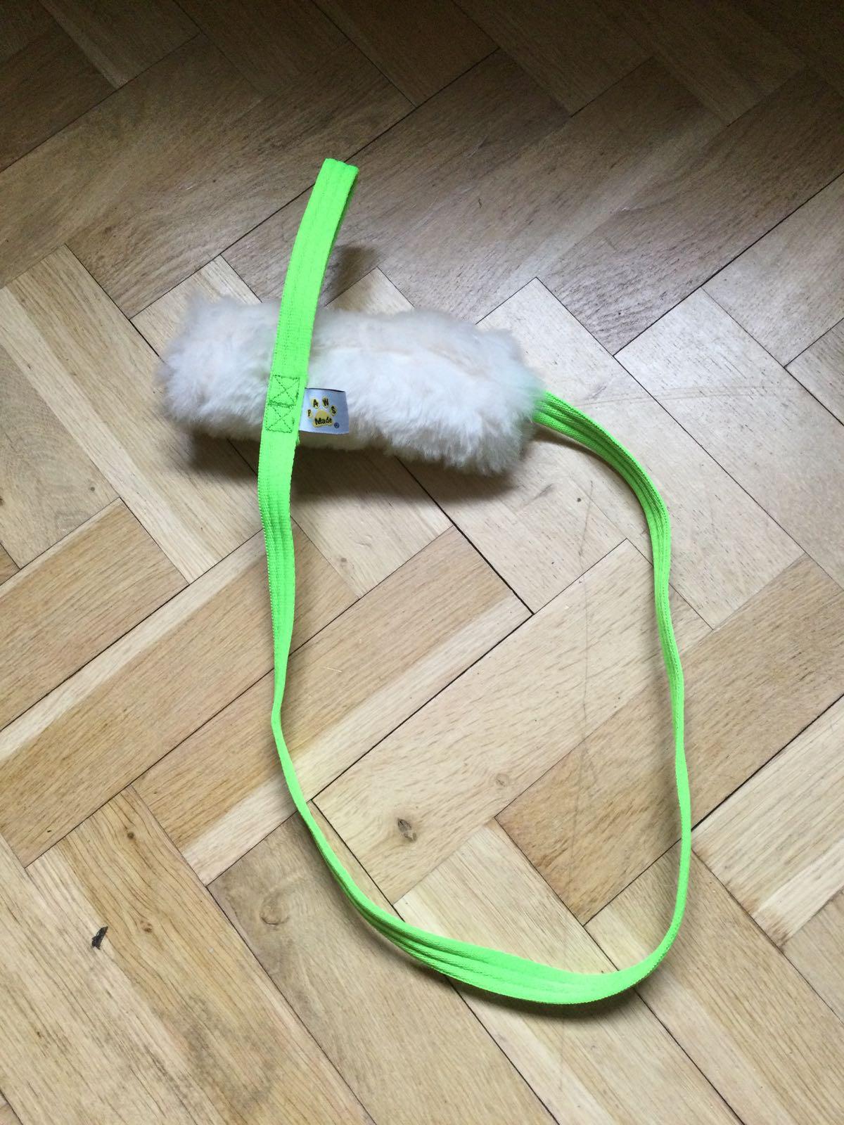 Paws Made Sheepskin XL flat chaser tug