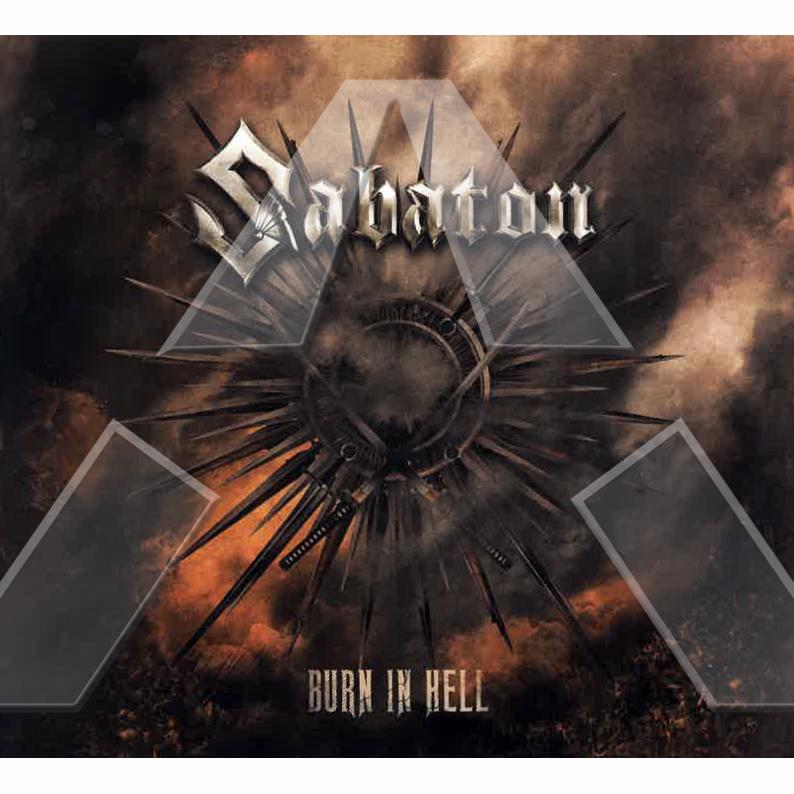 Sabaton ★ Burn in Hell (cd promo single EU)