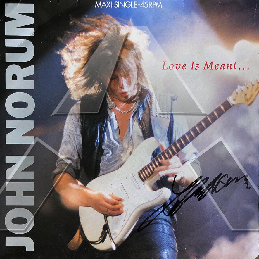 John Norum ★Love is Meant (vinyl maxi - ES 6510476)