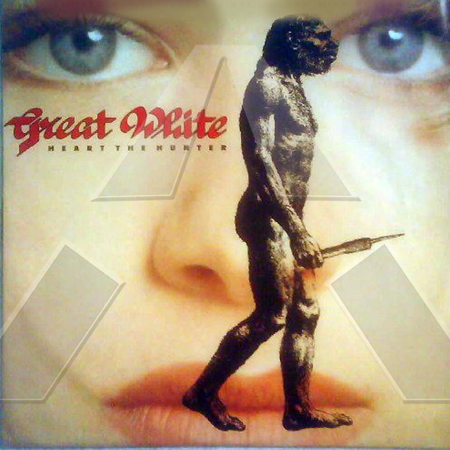 Great White ★ Heart The Hunter(singel UK 12CL555)
