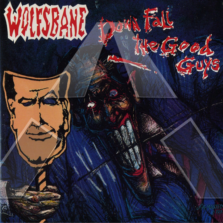 Wolfsbane ★Down Fall The Good Guys (cd album -  EU 5104132)