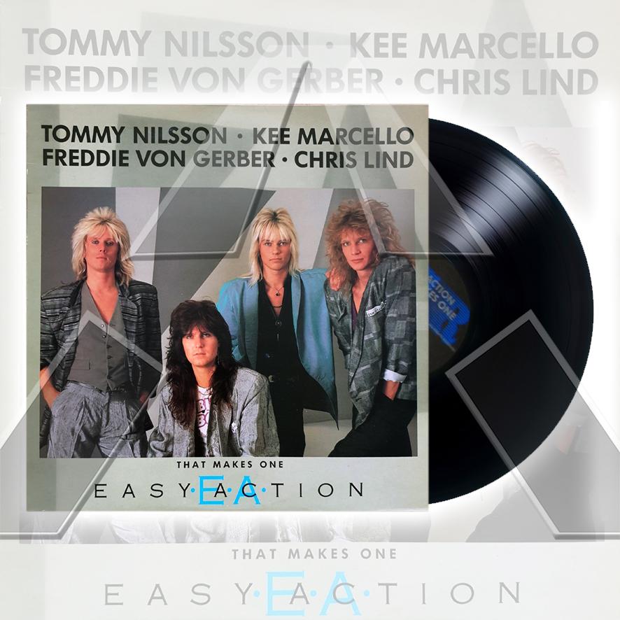 Easy Action ★ That Makes One (vinyl album - 2 versions)