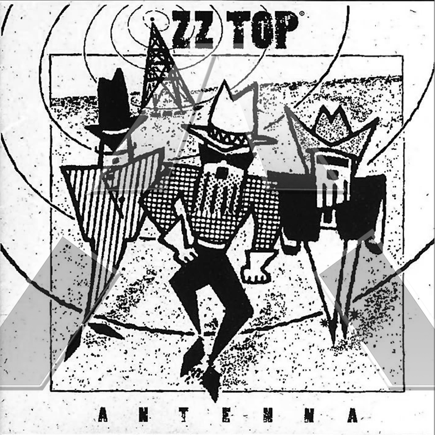 ZZ Top ★ Antenna (cd album - UK 74321182602)