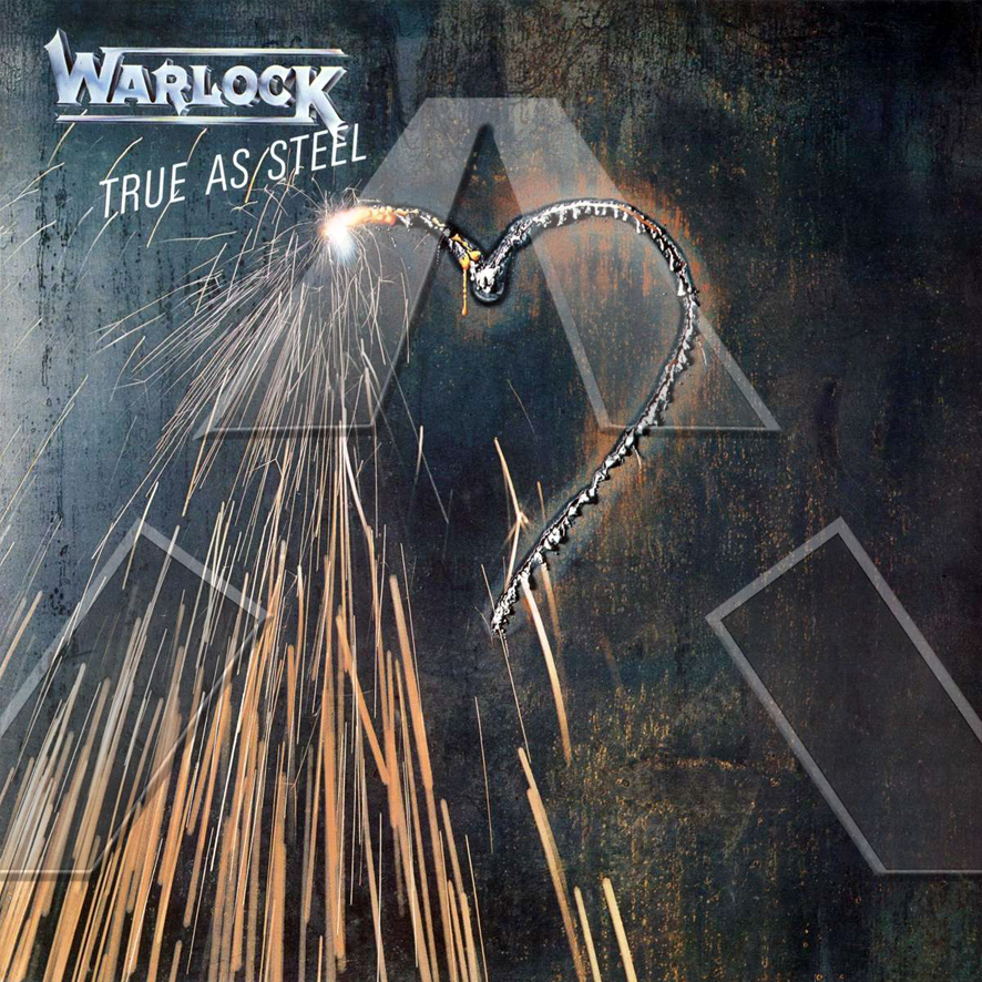 Warlock ★ True as Steel (cd album - GER 8302372)