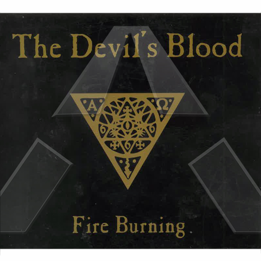 The Devil´s Blood ★ Fire Burning (cd maxi promo EU)
