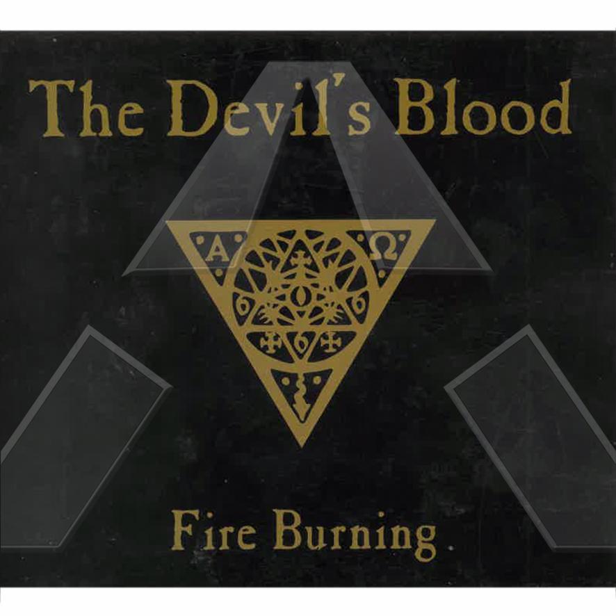 The Devil´s Blood ★ Fire Burning (cd maxi promo EU VÁN061)