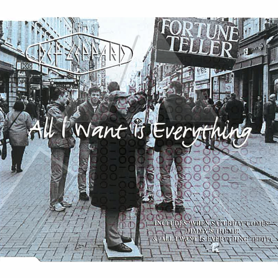 Def Leppard ★ All I want is Everything (cd single UK LEPCD175785372)