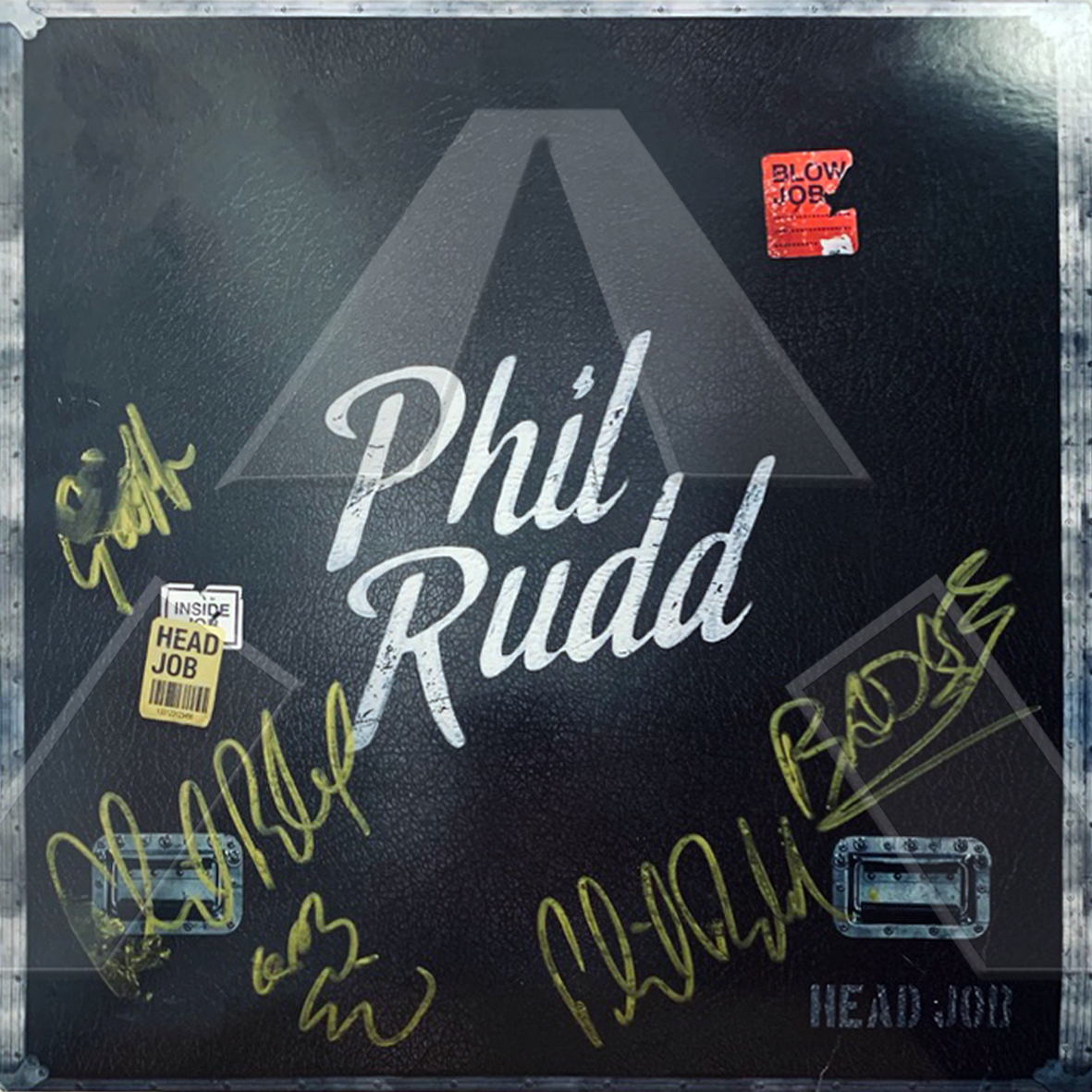 Phil Rudd ★ Head Job (vinyl album EU signed)