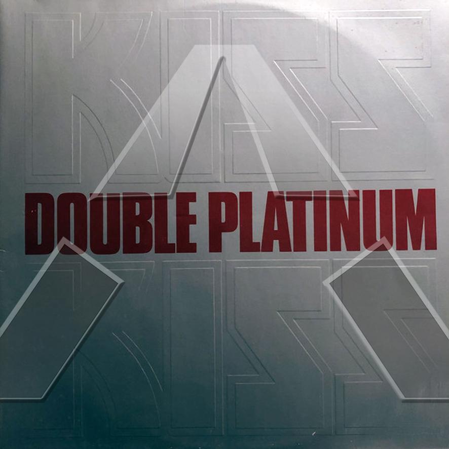 Kiss ★ Double Platinum (vinyl album - EU 6641397)