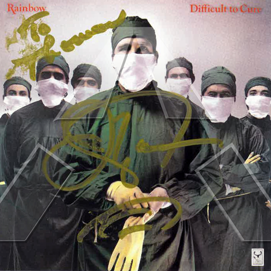 Rainbow ★ Difficult to Cure (cd album - EU 5473652)