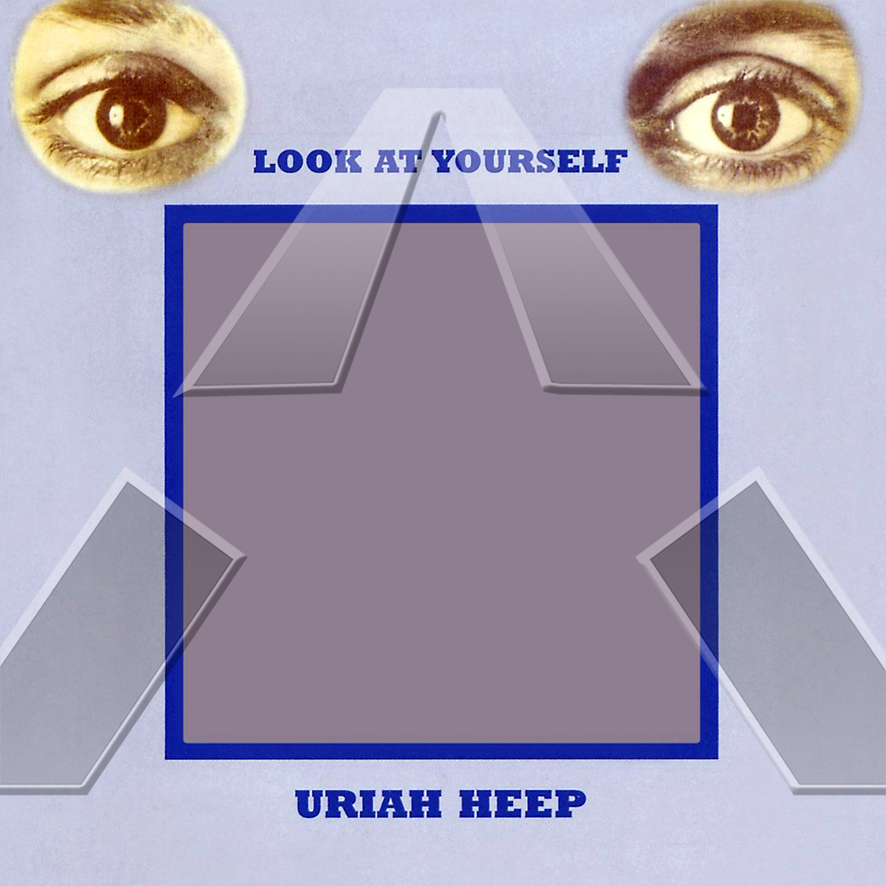 Uriah Heep ★ Look At Yourself (cd album - EU SMRCD050)
