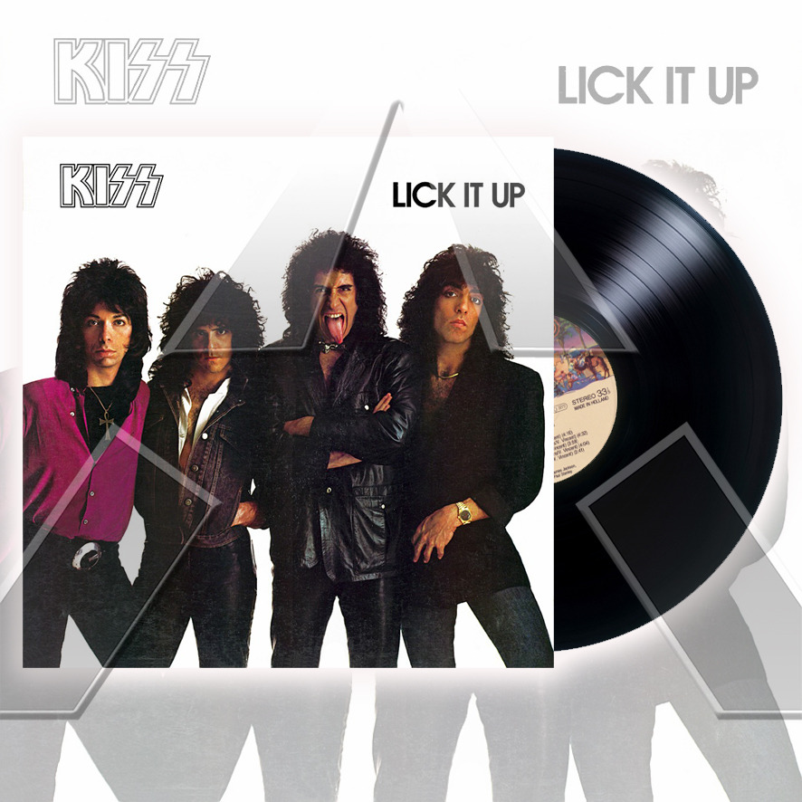Kiss ★ Lick it up (vinyl album - NED 8142971)
