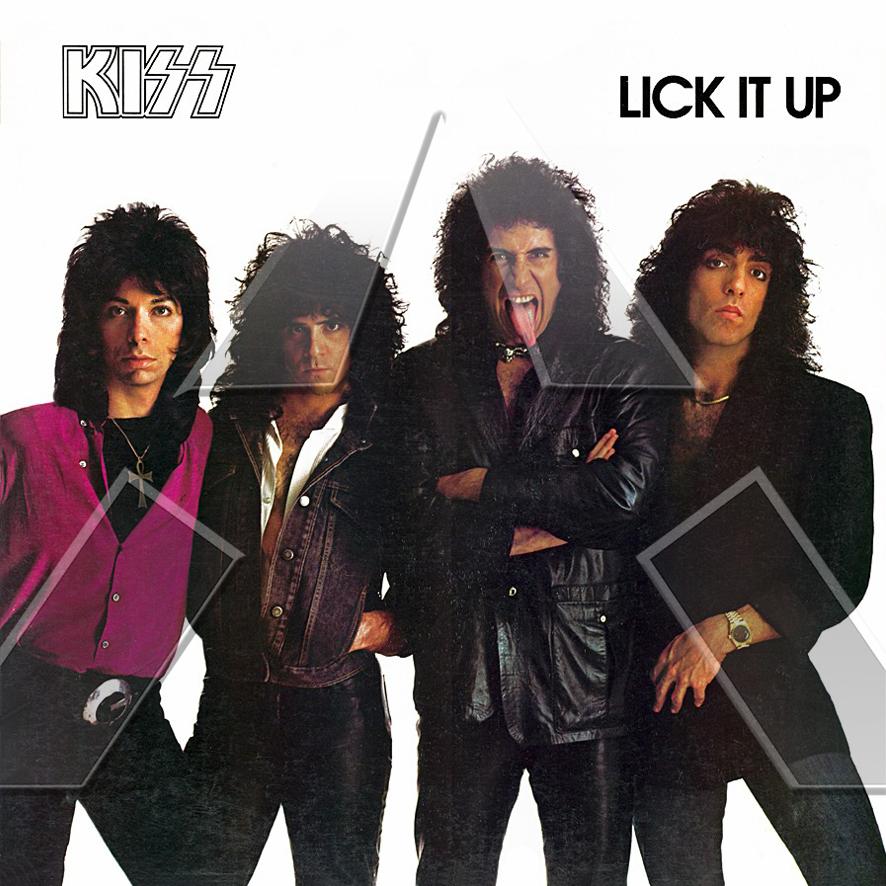 Kiss ★ Lick it up (vinyl album - NED 8142971)