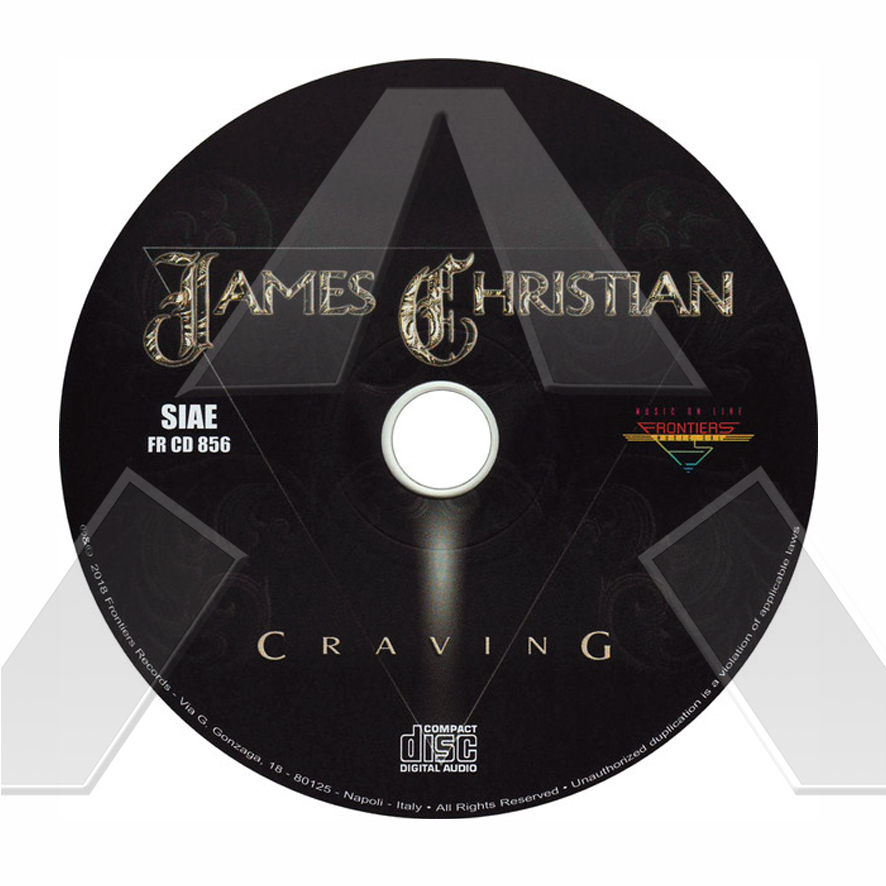 James Christian ★ Craving (cd album EU / JPN)