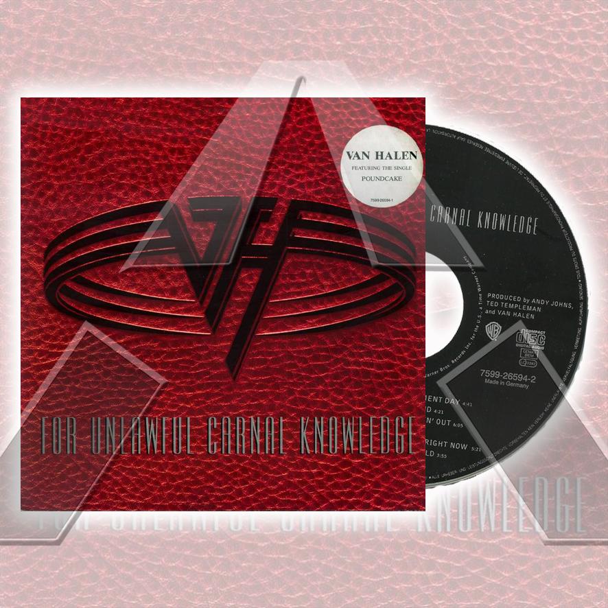 Van Halen ★ For Unlawful Carnal Knowledge (cd album - EU 7599265942)