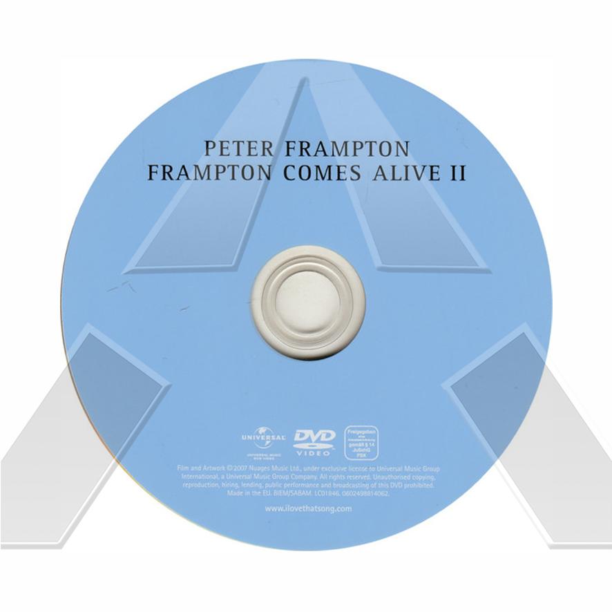 Peter Frampton ★ Comes Alive II ( dvd EU 0602498814062)