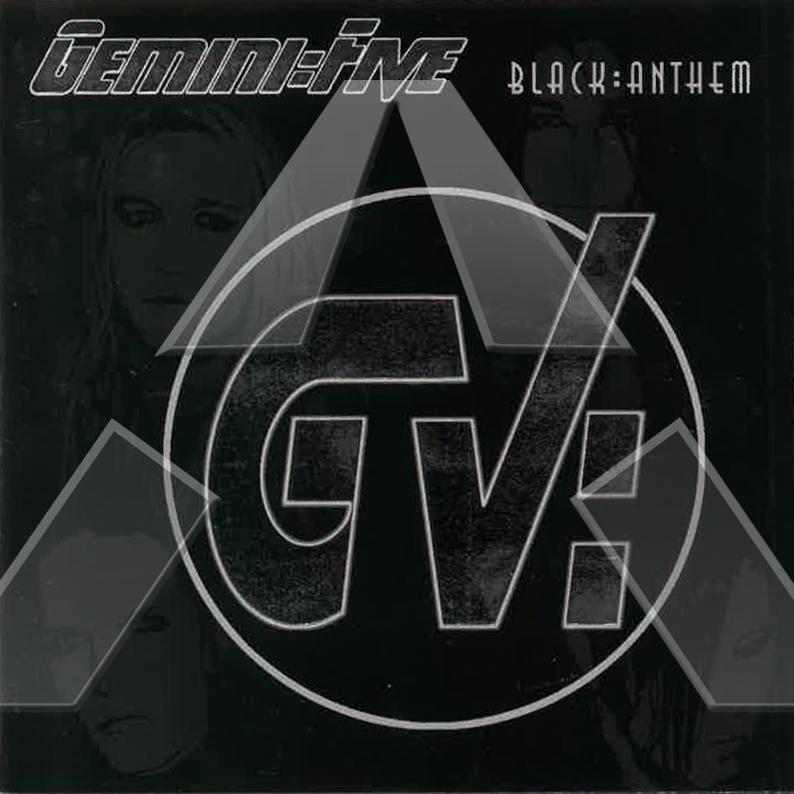 Gemini Five ★ Black Anthem (cd promo album EU 019CDPROMO)