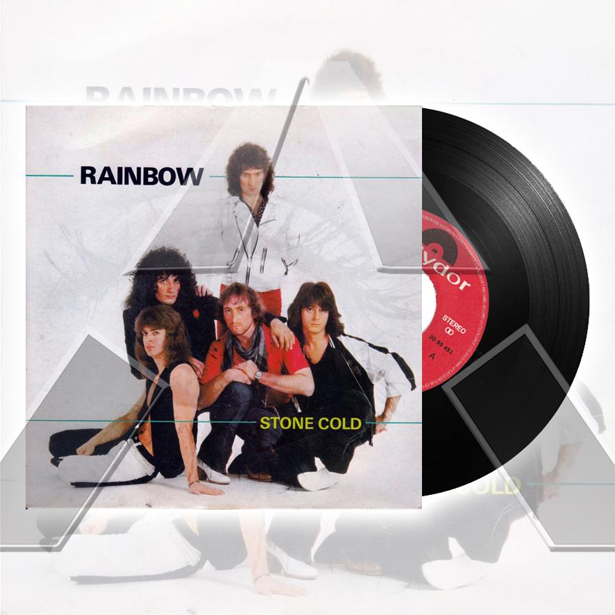 Rainbow ★ Stone Cold (vinyl single - 2 versions)