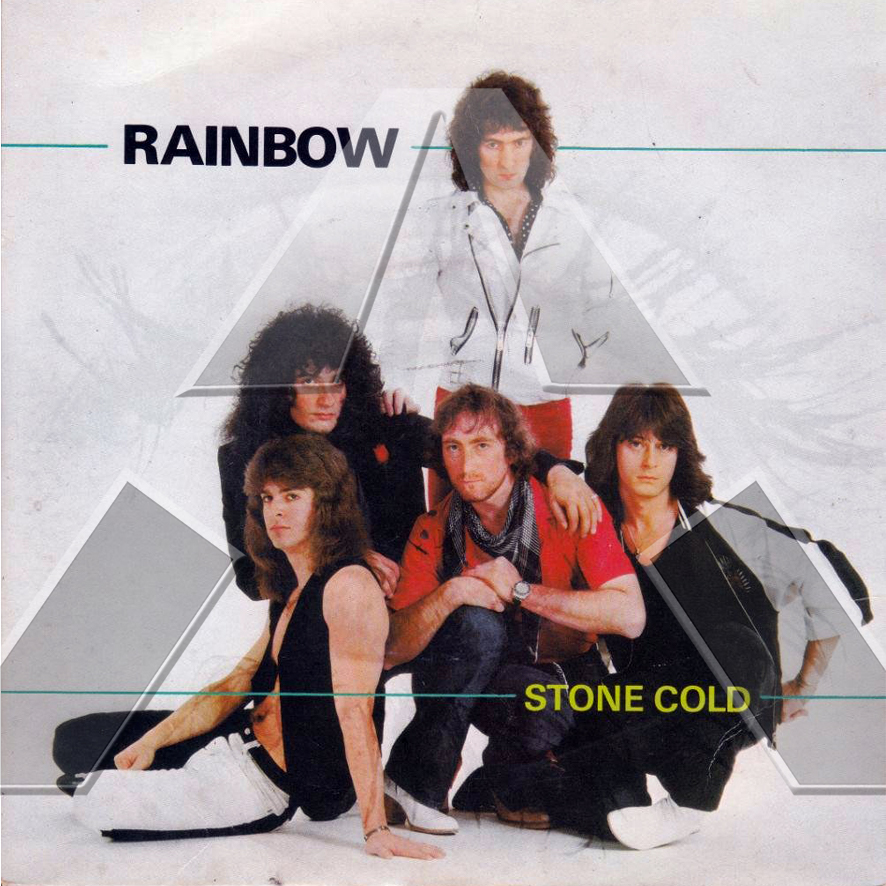 Rainbow ★ Stone Cold (vinyl single - 2 versions)