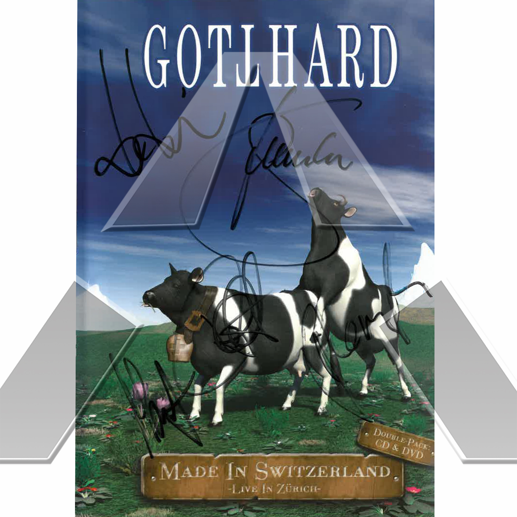 Gotthard ★ Made in Switzerland (cd album & dvd signed)