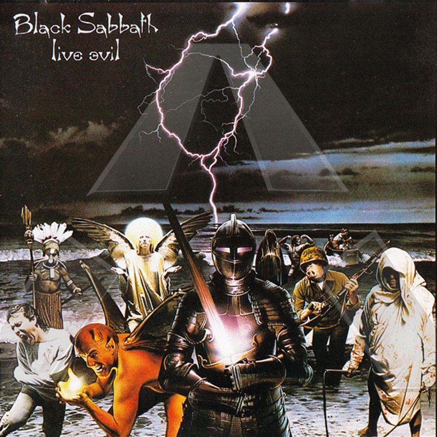 Black Sabbath ★ Live Evil (cd album EU)